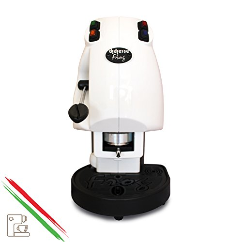Kaffee Maschine A Waffeln in Papier Ese 44mm Diesse Frog Farbe Weiß