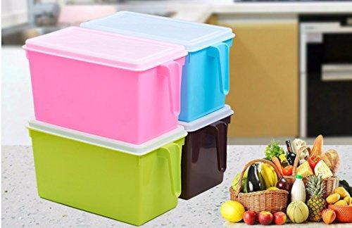 Immagazzinamento del cibo cereale Tupperware frigorifero di frutta e verdura con la scatola di tenuta (Jar Kitchen Decor)