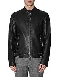 Versace Collection Giacca Outerwear Uomo V400256VP00072V1008 Pelle Nero f9dff9eb95e