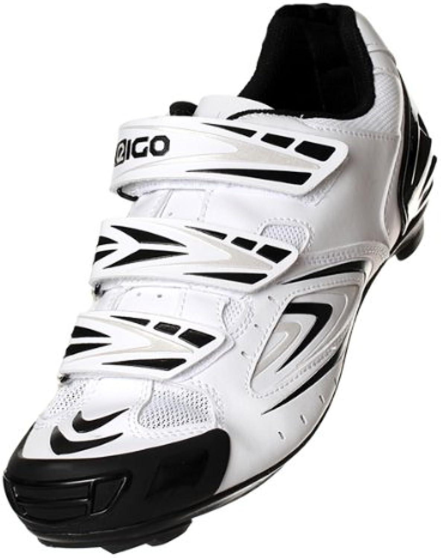 EIGO Cycling scarpe Antares Nero Bianco   Outlet Online Shop    Maschio/Ragazze Scarpa