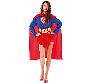 Fyasa 830447-txl Super Hero Girl disfraz, talla XL