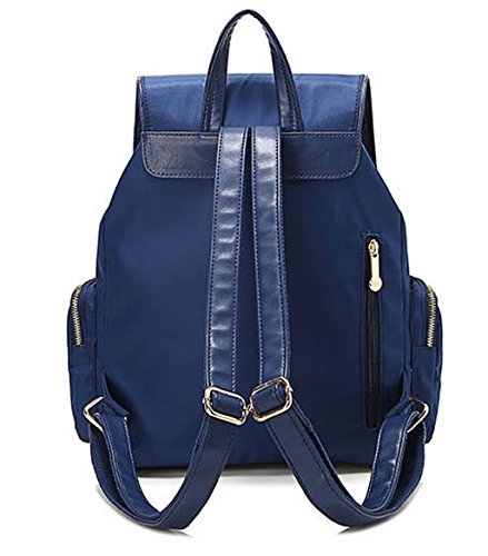 Tibes 2016 Nuovo Zaino Sacchetti di Nylon di Modo di Svago Per le Ragazze Blu