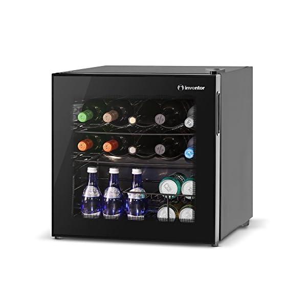 48 litres Noir Klarstein 10003428/Mini-bar r/éfrig/érateur Classe /énerg/étique C Consommation 206/kWh//an 51/cm Capacit/é du compartiment de stockage