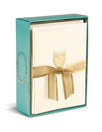 (Boxed Notes: Owl on a Branch – Gruß- und Geschenkkartenbox mit Kuverts: Eule auf einem Ast)
