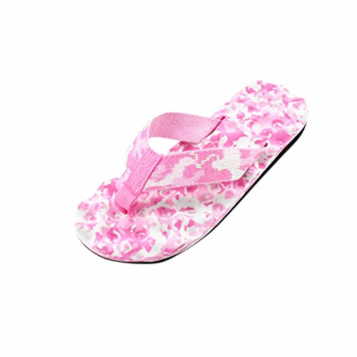 Ouneed® Colore ETE ! Femme Tongs Plage / Picsine Sandale Chaussures Rose