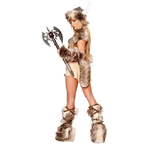 Tote Piraten Kostüm Frauen - Miss Y Halloween Wikinger Piraten Kostüm Cosplay Cow Demon Drama Dressing Up Kostüm,OneSize