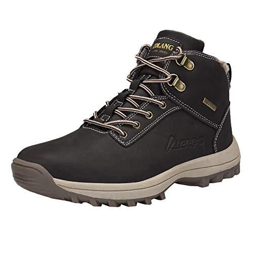 e Rutschfeste Wasserdichte Outdoor-Stiefel Herren im Freien, die Werkzeugschuhe Klettern Stiefel Stiefeletten Wanderstiefel Combat Worker Boots Laufschuhe Sports ()