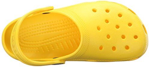 Crocs Classic Kids Lmn, Zoccoli Unisex – Bambini Verde (Lemon)