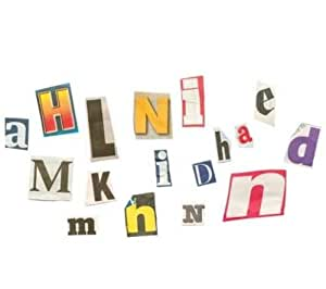 200 x Ransom Fridge Magnets - Alphabet, numbers