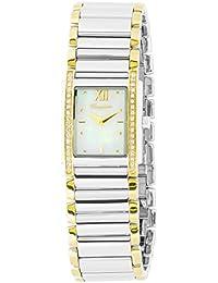 Burgmeister Armbanduhr für Damen mit Analog Anzeige, Quarz-Uhr mit Edelstahl Armband - Wasserdichte Damenuhr mit zeitlosem, schickem Design -klassische, elegante Uhr für Frauen - BM542-987 Murrieta