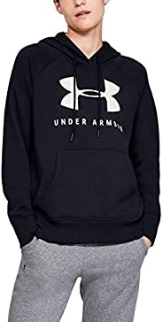 Under Armour Women's Rival Fleece Sportstyle Graphic Hoodie Ho
