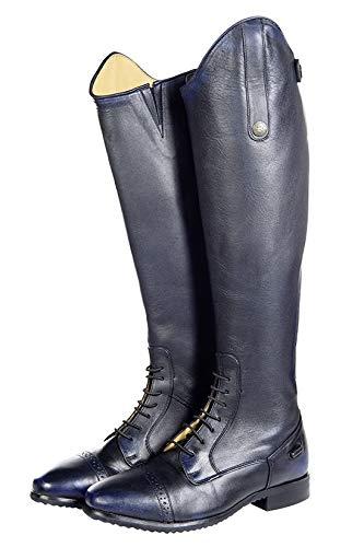 HKM Erwachsene Reitstiefel -Valencia-, Standardlänge/-weite6900 Hose, 6900 dunkelblau, 39