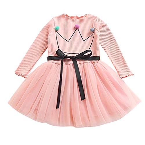 c9fa35228 K-youth Vestidos Bebe Niña, Recién Bebé Niñas Tutú Princesa Vestido ...