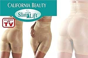 Slim N Lift Polyester Bodyshaping Undergarment, Women's (Beige)