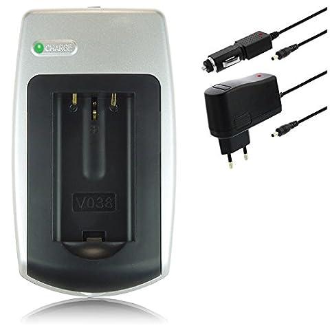 Chargeur Klic-8000 pour Kodak Easyshare / DB-50 pour Ricoh Caplio...voir liste!