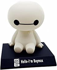 "Ramanta Cute 4"" Big Hero 6 Baymax Robot Bobble Head Shaking Head Toy Model Car Decoration for Hyundai Verna"