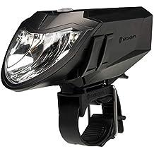 Luz Delantera de Bicicleta Roxim RX5AP Premium - CREE LED - IPX4 - Extremadamente Brillante -