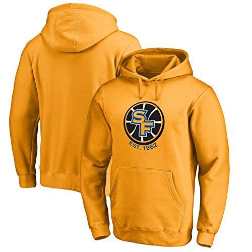 Golden State Warriors Männer Basketball Langarm Hoodie Jersey Sport Pullover Sweatshirt Plus Sweatshirt Trainingsanzug Jacke S-3XLBetreten Sie den Laden mehr-Yellow(1)-XL