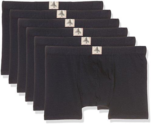 ESPRIT Bodywear Herren Retroshorts 6er Pack, 106EF2T014, Blau (Navy 400), Medium