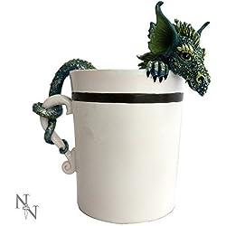 Taza con figura de dragón, 11 cm