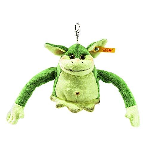 Steiff 112478 - Anhaenger Edric Monster 10, Traditioneller Plüsch, grün