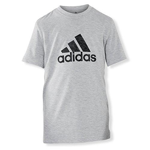 adidas Performance Kinder Funktionsshirt grau 176 (Shirt Adidas Court)