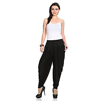 Legis Relaxed Comfortable Rayon Printed Dhoti Pants Yoga Fitness Active wear for Women Dance - Free Size