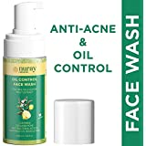 Nuray Naturals Vegan Anti Acne and Brightening Foaming Face Wash for Oily Skin, 100 ml