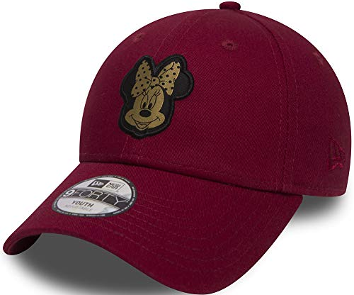 New Era Minnie Mouse Red Gold Character 9Forty Velcroback Cap Child Kind -