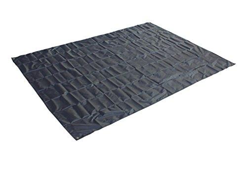 Outdoor tapis de pique-nique noir (200 * 145cm)