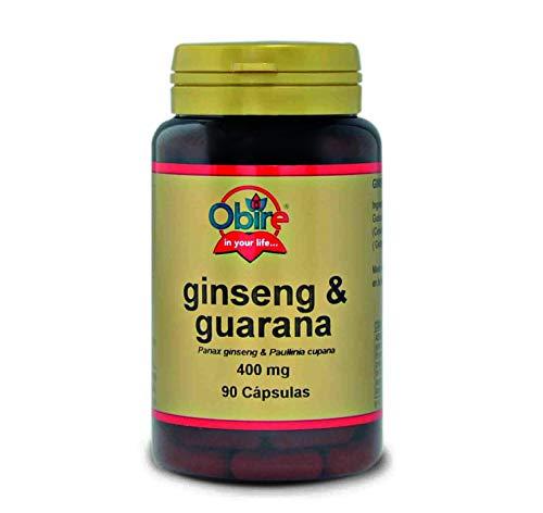 Ginseng & guarana 400 mg. 90 capsulas