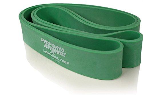 PB Super Band, Widerstandsband, 32, 5kg, Grün, 3.8 cm breit (5mm dick) (Bogen Machen Band)