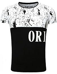 Carisma - Tee shirt imprimé pas cher Carisma 11 Noir