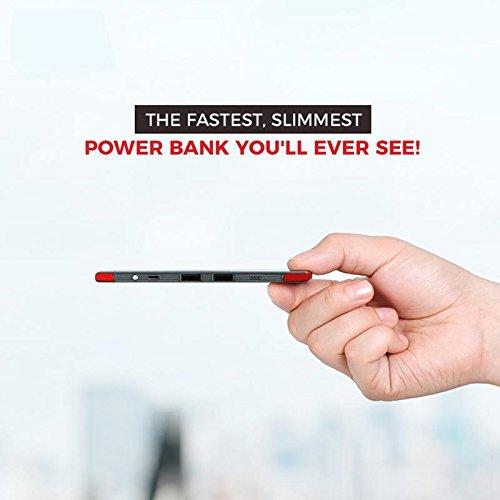 Pebble PB44 10000mAH Power Bank (Grey)