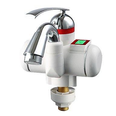 Shuyou® de cuisine Chauffe-eau électriques numériques robinet à double usage à chaud froid Intelligence écran