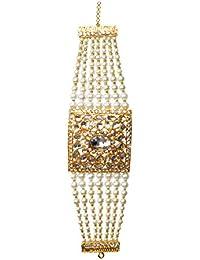 Kanishk Creations Alloy Kundan Billore Dasti Bracelet For Girls And Women