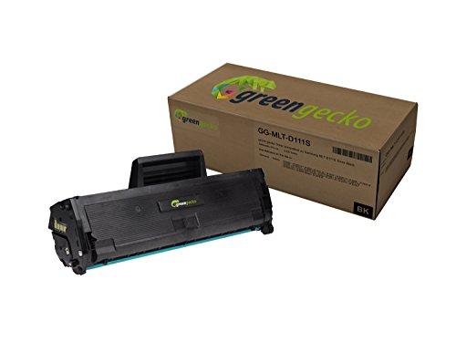 Hersteller Serie (XXL Toner ersetzt Samsung MLT-D111S | 2.000 Seiten (100% mehr Inhalt) | für Samsung Xpress M2020, M2022, M2070 | schwarz, neuster Chip)