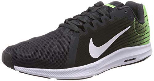 Nike Downshifter 8, Zapatillas de Running para Hombre, Gris (Anthracite Lime Blast/Black/White 013), 44 EU