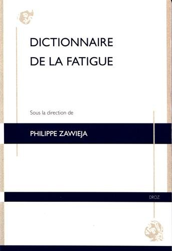 Dictionnaire de la fatigue