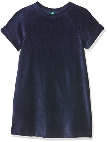 united-colors-of-benetton-madchen-kleid-4dzb5v720-blau-navy-12-18-monate-herstellergrosse-1y