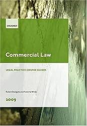 Commercial Law 2009: LPC Guide (Legal Practice Course Guides)