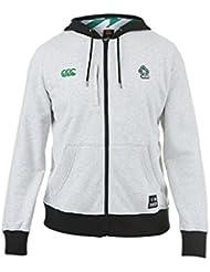 Irlande IRFU 2016/17 - Sweat Entraînement de Rugby à Capuche Zippé Joueurs