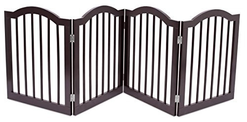 Internet's Best Dog Gate  Arched Top (61 CM Standard
