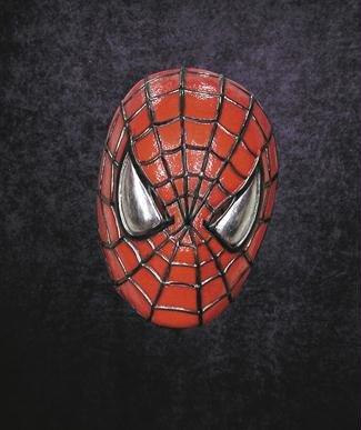 aske Gesicht Maske Kostüm Stütze Scary Creepy Schreckliche Maske Monster Maske Latex Maske Over-the-Head-Maske Spiderman Vinyl Maske Erwachsene für Maskerade Make-up Party (Spiderman Kostüm Make Up)