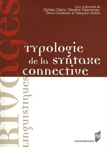 Typologie de la syntaxe connective