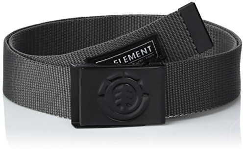 Element Herren Beyond Belt Gürtel, Charcoal, One Size -