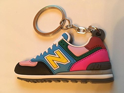 Preisvergleich Produktbild New Balance 574 Schlüsselanhänger Bunt Sneaker Keychain Colors