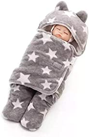 BRANDONN 3 in 1 Baby Blanket/Safety/Sleeping Bag, Rich Grey