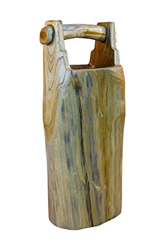 Kinaree Teak Baumstamm Holz Schirmständer