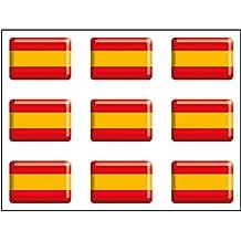 Artimagen Pegatina Bandera Rectángulo 9 uds.